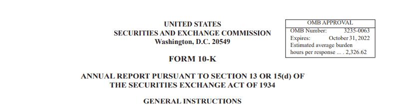 Form 10-K